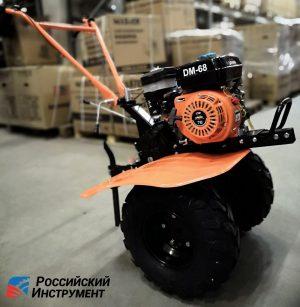 Мотоблок Daman 68 (широкие колеса, 7 лс)