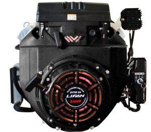 Двигатель Lifan 2V78F-2A 3А (24 лс, электростартер, катушка освещения 3А)