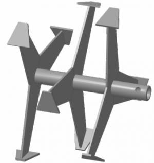 Фрезы культиватор МК Крот, Крот 2,Тарпан, 500 АМ, Carver T-653R, Kansas MK-700 (лепестковая)