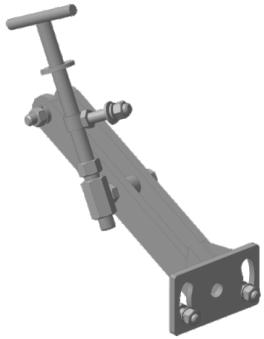 Сцепка-база МБ регулируемая (шпилька D16)