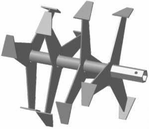 Фрезы-культиватор S-32 (Форза, Кроссер, Вейма, Хопер, 6-гранные лепестковые)