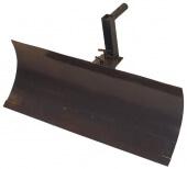 Лопата/отвал МБ Форза, Ока, Каскад, Нева (обрезиненый нож) со сцепкой