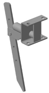 Сцепка МБ Салют (фронтальная с ограничителем)