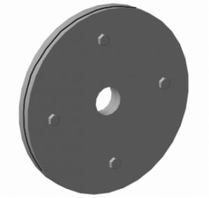 Утяжелитель грунтозацепов /4 блина+6 болтов/ МБ Салют