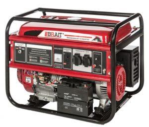 Бензиновый генератор Brait BR-6500 CU(E) (6.5 кВт, электростартер)