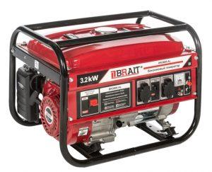 Бензиновый генератор Brait BR-3800AL (3.2 кВт)