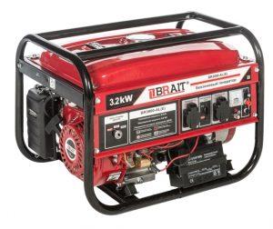 Бензиновый генератор Brait BR-3800AL(E) (3.2 кВт, электростартер)