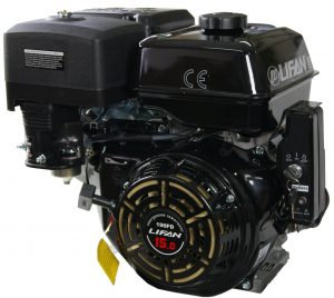 Двигатель Lifan 190FD 18А (15 лс, электростартер, катушка 18А)