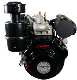 Двигатель дизельный Lifan C192FD (15 лс, электростартер)