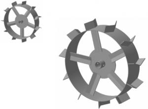 Грунтозацепы МК Кайман (сплошной обод)