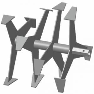 Фрезы-культиватор S-24 (Форза, Кроссер, Вейма, Хопер, 6-гранные лепестковые)