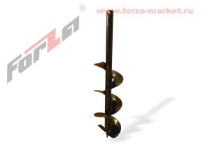 Шнек для грунта FORZA D=150мм/85 (1 заход, 1 нож)(CARVER AG-52, Калибр БС-1500)